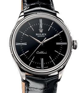 50509 black dial Rolex Cellini