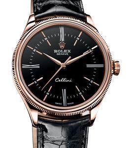 50505 Black dial Rolex Cellini