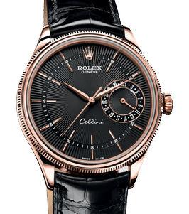 50515 black dial Rolex Cellini
