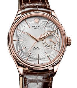 50515 silver dial Rolex Cellini