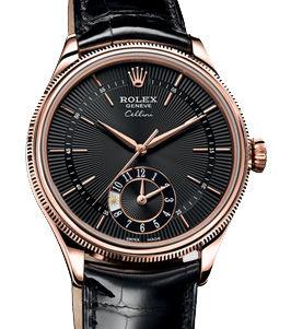 50525 black dial Rolex Cellini