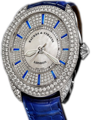 RE.4452MA.D2R.SAPPHIRE Backes & Strauss Regent Collection