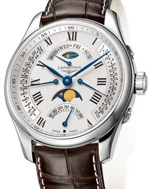 L2.739.4.71.3 Longines Master Retrograde Collection