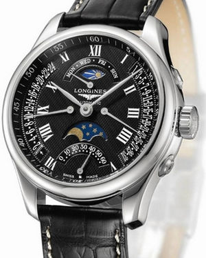L2.739.4.51.7 Longines Master Retrograde Collection