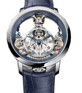 Time Pyramid Butiqued Limited Editon 25 Arnold & Son Instrument collection