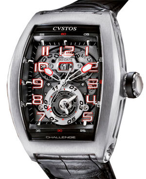 Challenge Twin-Time Steel Cvstos Masterpiece Twin-Time