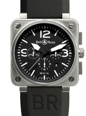 BR 01-94 Steel Bell & Ross BR 01-94 Chronograph