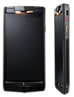 Signature Touch Pure Jet Red Gold Vertu Signature Touch