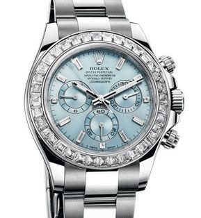 116576TBR blue diamond dial Rolex Cosmograph Daytona