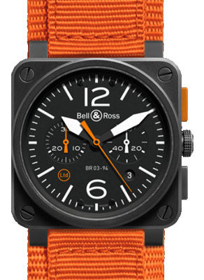 Bell & Ross BR 03-94 Chronograph BR 03-94 Carbon Orange