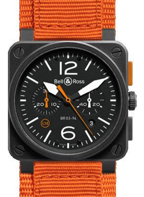 BR 03-94 Carbon Orange Bell & Ross BR 03-94 Chronograph