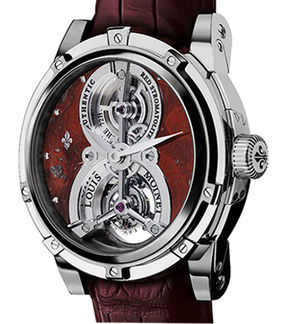 Red Stromatolite White Gold Louis Moinet Tourbillon