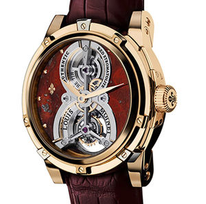 Red Stromatolite Red Gold Louis Moinet Tourbillon