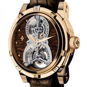 Biggs jasper Red Gold Louis Moinet Tourbillon