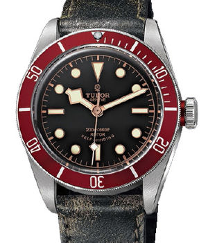 Tudor Heritage 79230R aged leather strap