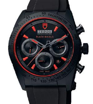 42000CR rubber strap Tudor Fastrider Black Shield