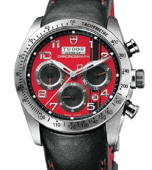 42000D Leather strap Tudor Fastrider Black Shield