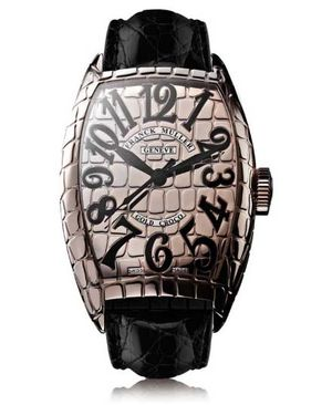 9880 SC GOLD CRO Franck Muller Croco Collection