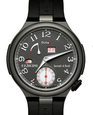 Octa Sport Titane Rubber Strap F.P.Journe Linesport Collection