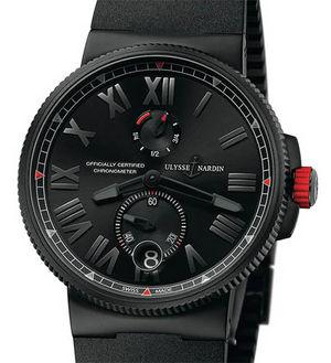 1183-122LE-3C/BLACK-BQ Ulysse Nardin Marine Chronometer