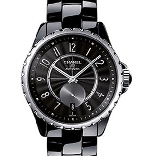 Chanel J12 Black H3836