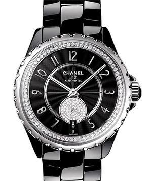 Chanel J12 Black H3840