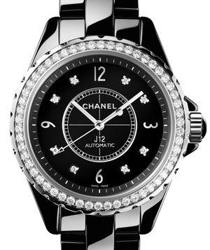 Chanel J12 Black H3109