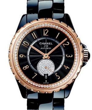 Chanel J12 Black H3842