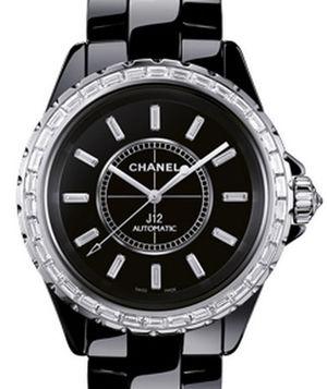 Chanel J12 Black H3384