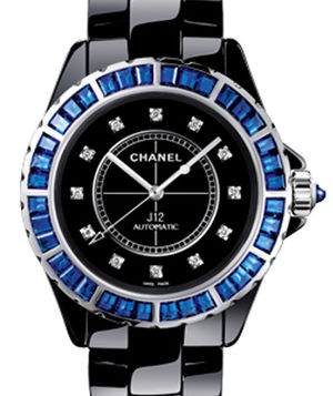 Chanel J12 Black H3122