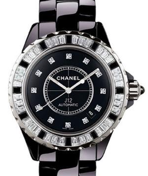 Chanel J12 Black H2024