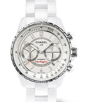 Chanel J12 White H3410