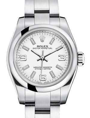 176200 white dial Rolex Oyster Perpetual