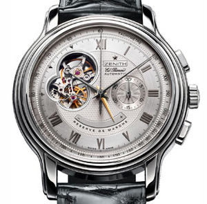 03.1260.4021/02.c505 Zenith Chronomaster Old model