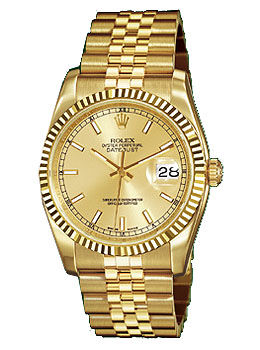 116238 champagne dial index Rolex Datejust 36