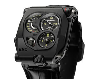 EMC Black Urwerk EMC Collection