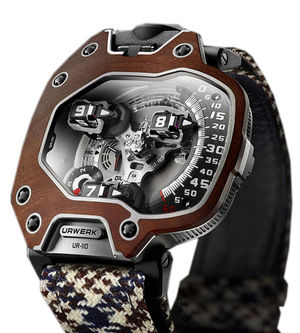 Urwerk 110 Collection Ur-110 eastwood red ebony