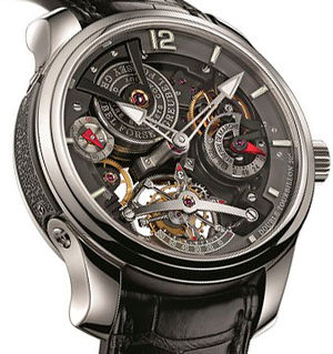 GF02s Platine Bi-colour Greubel Forsey Double Tourbillon 30°