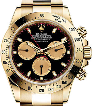 Rolex Cosmograph Daytona 116508 Black and champagne