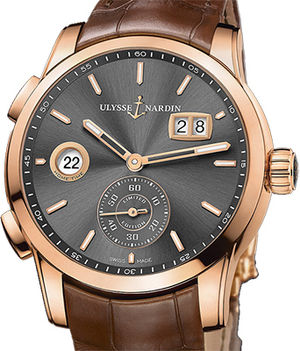 Ulysse Nardin Dual Time Manufacture 3346-126LE/BQ