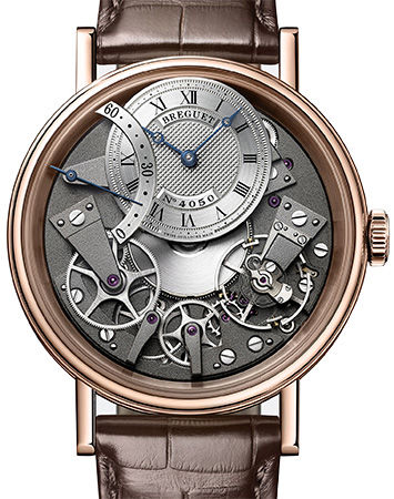 7097BR/G1/9WU Breguet часы Automatique Seconde Retrograde 7097