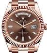Rolex Day-Date 40 228235 chocolate diamond