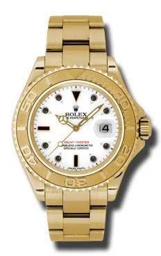 16628 white dial Rolex Yacht-Master
