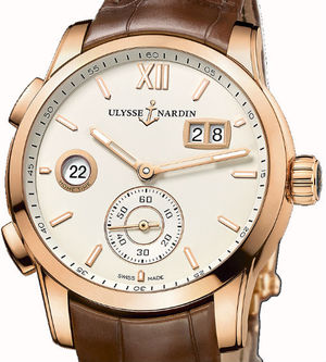 3346-126/90 Ulysse Nardin Dual Time Manufacture