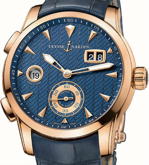3346-126LE/93 Ulysse Nardin Dual Time Manufacture
