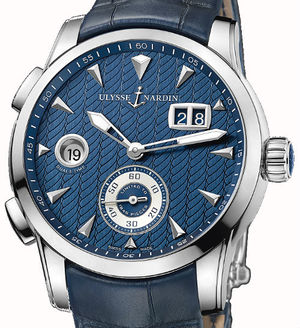 3343-126LE/93 Ulysse Nardin Dual Time Manufacture