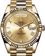 Rolex Day-Date 40 228238 champagne bevelled deconstructed Roman