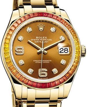 86348SAJOR Rolex Pearlmaster