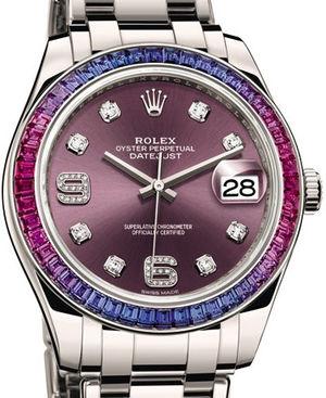 86349SAFUBL Rolex Pearlmaster