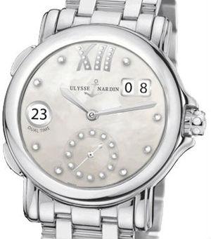 3343-222-7/391 Ulysse Nardin Dual Time Lady